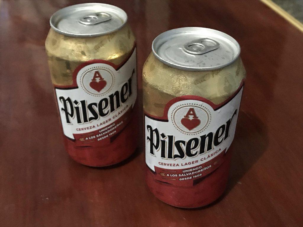 Best beer of El Salvador: Pilsener