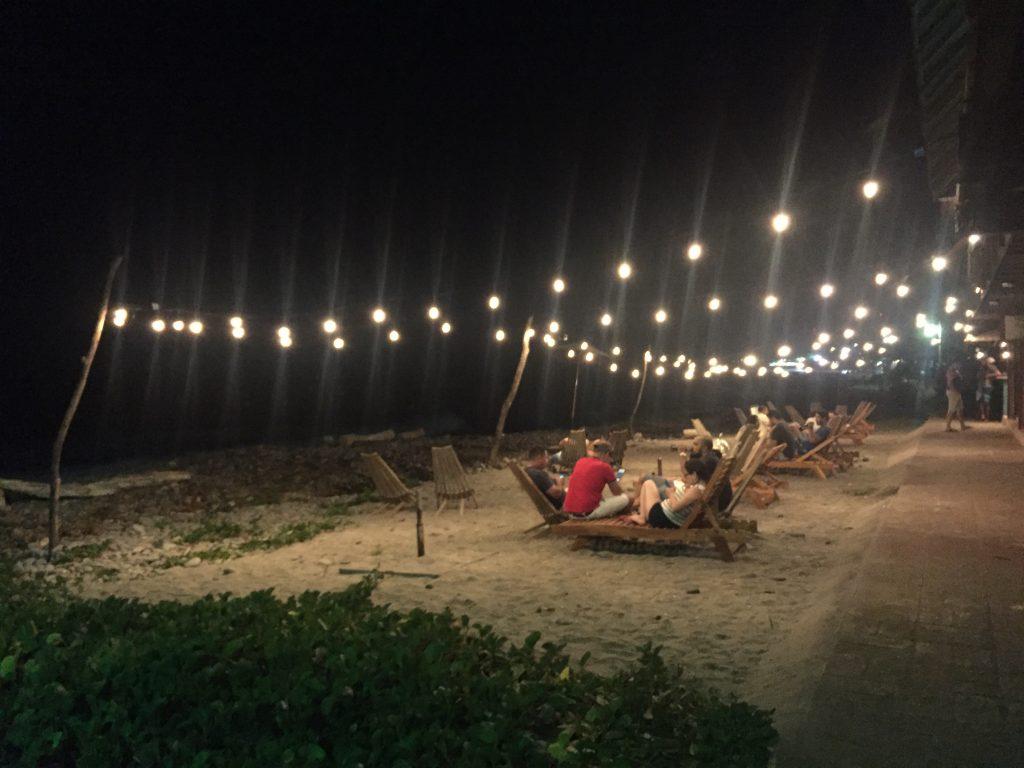Photo: Nightlife at El Tunco Beach in El Salvador