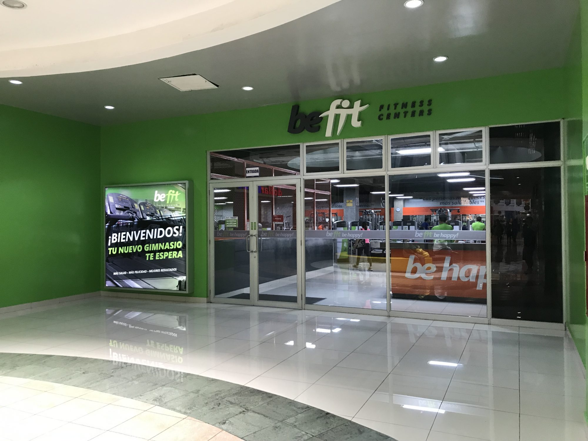 Joining The Gym – BeFit – Plaza Mundo, El Salvador