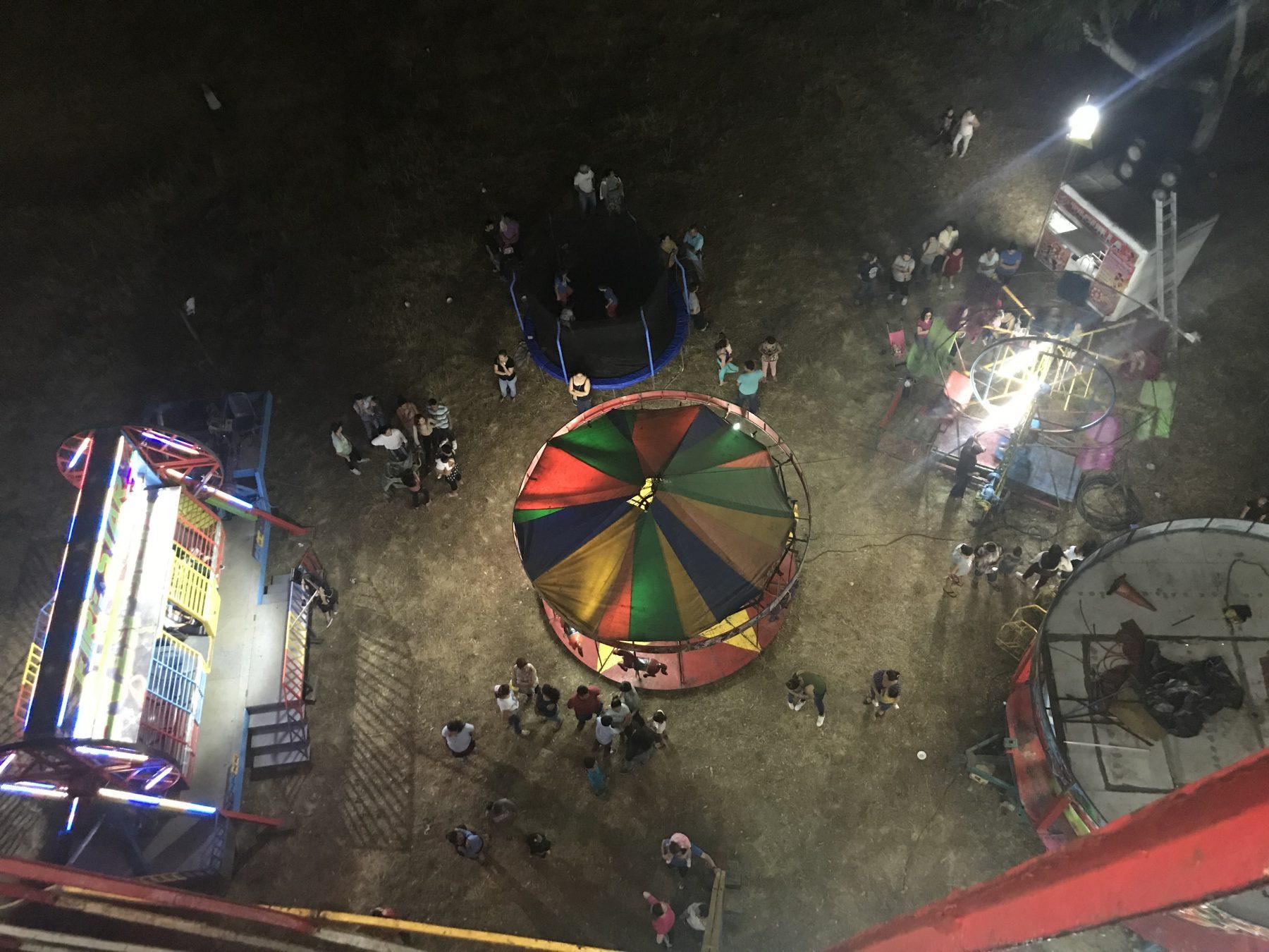 Fun at the Fairgrounds of Ilopango, San Salvador