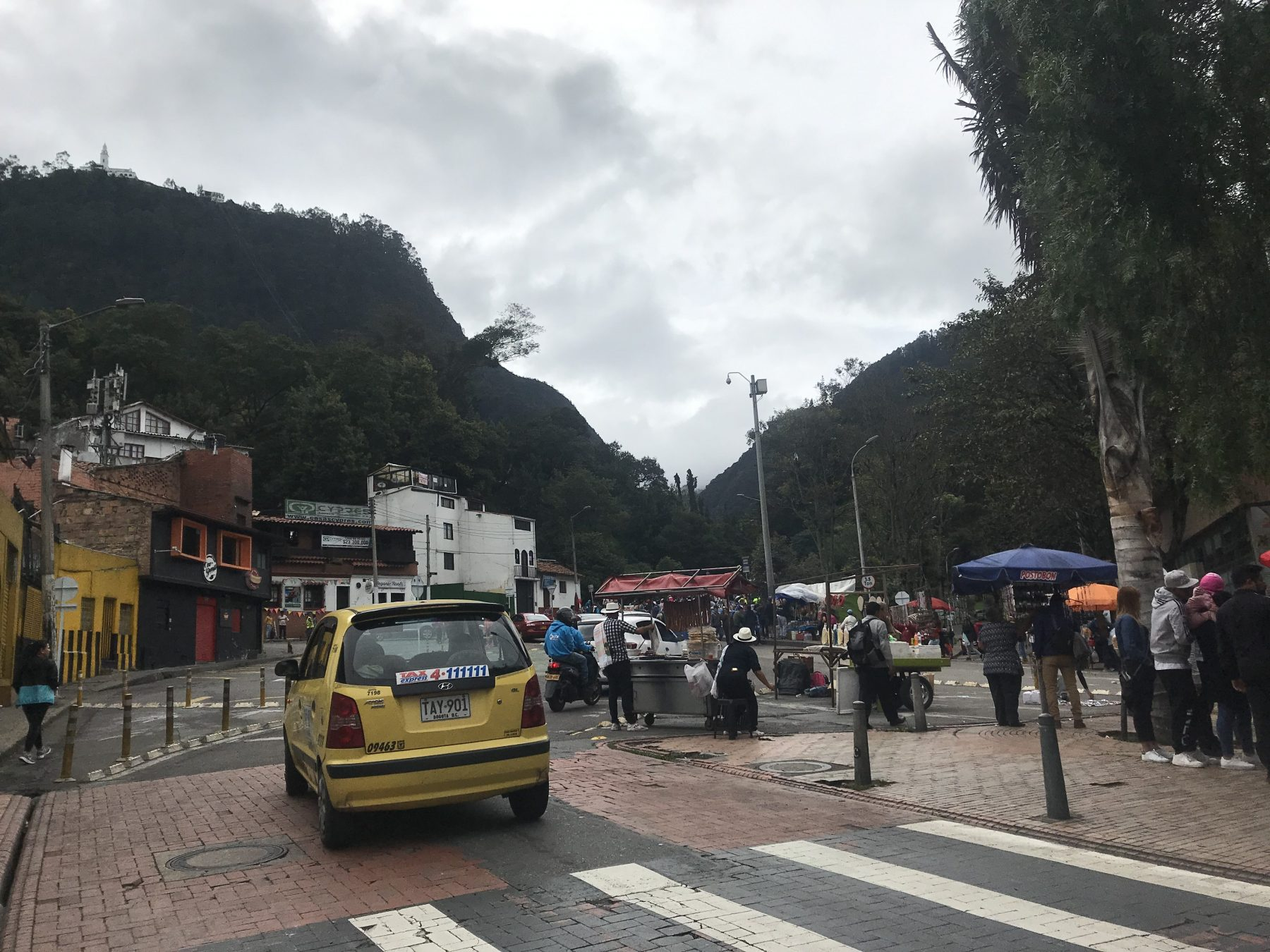 Visiting Bogota, Colombia