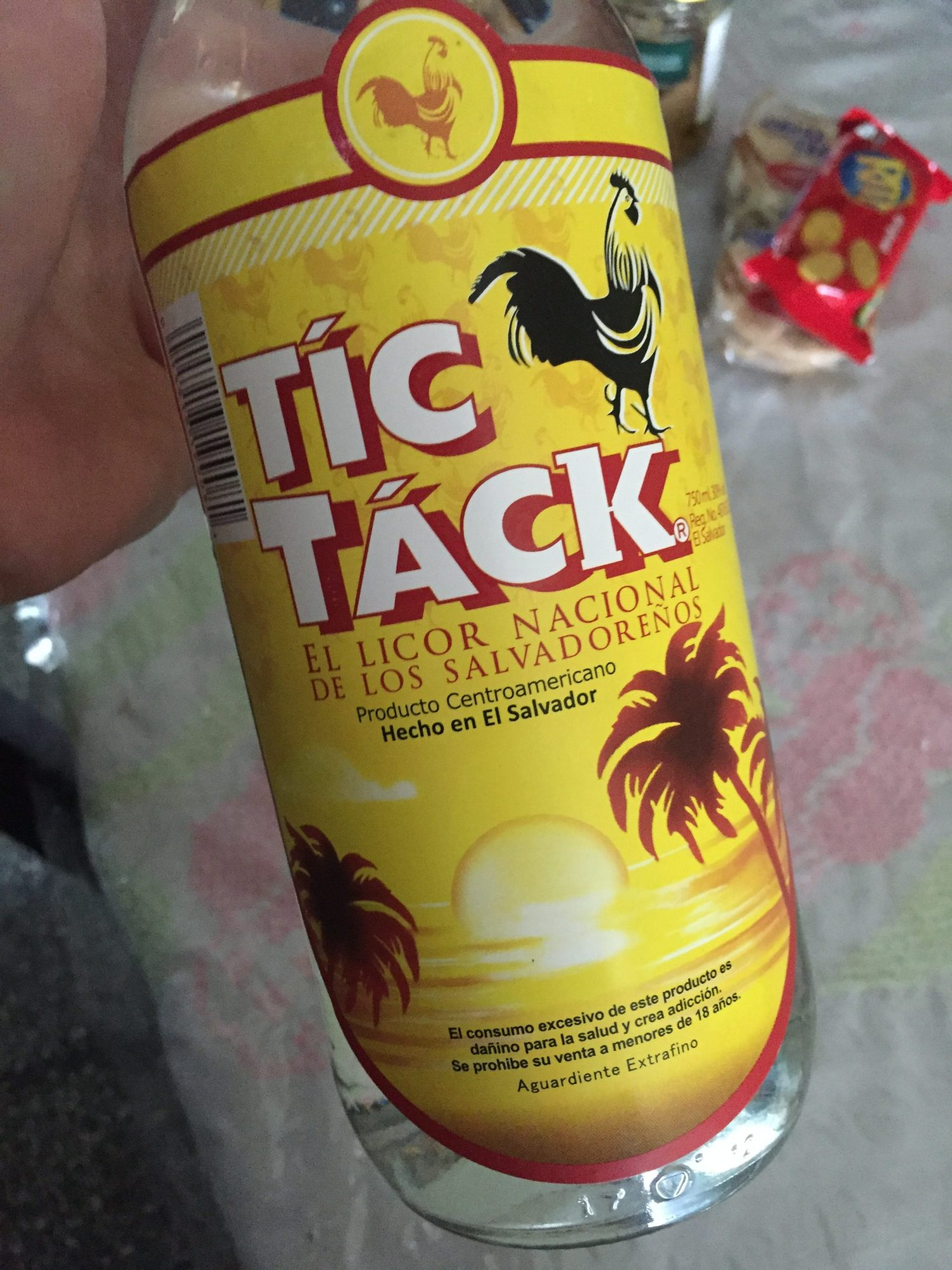 Tic Tac – The national liquor of El Salvador