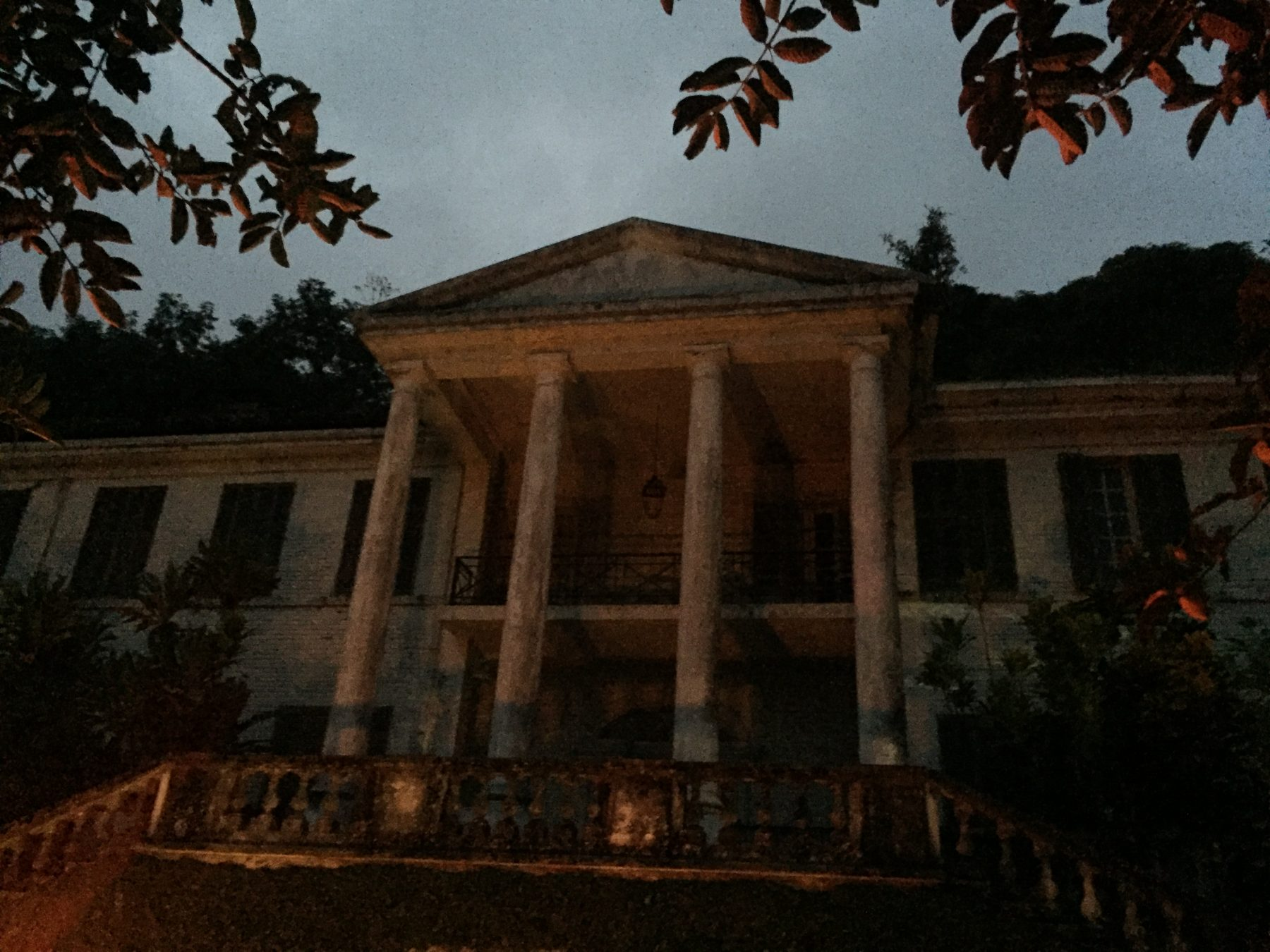 The Haunted Guirola Mansion of El Salvador