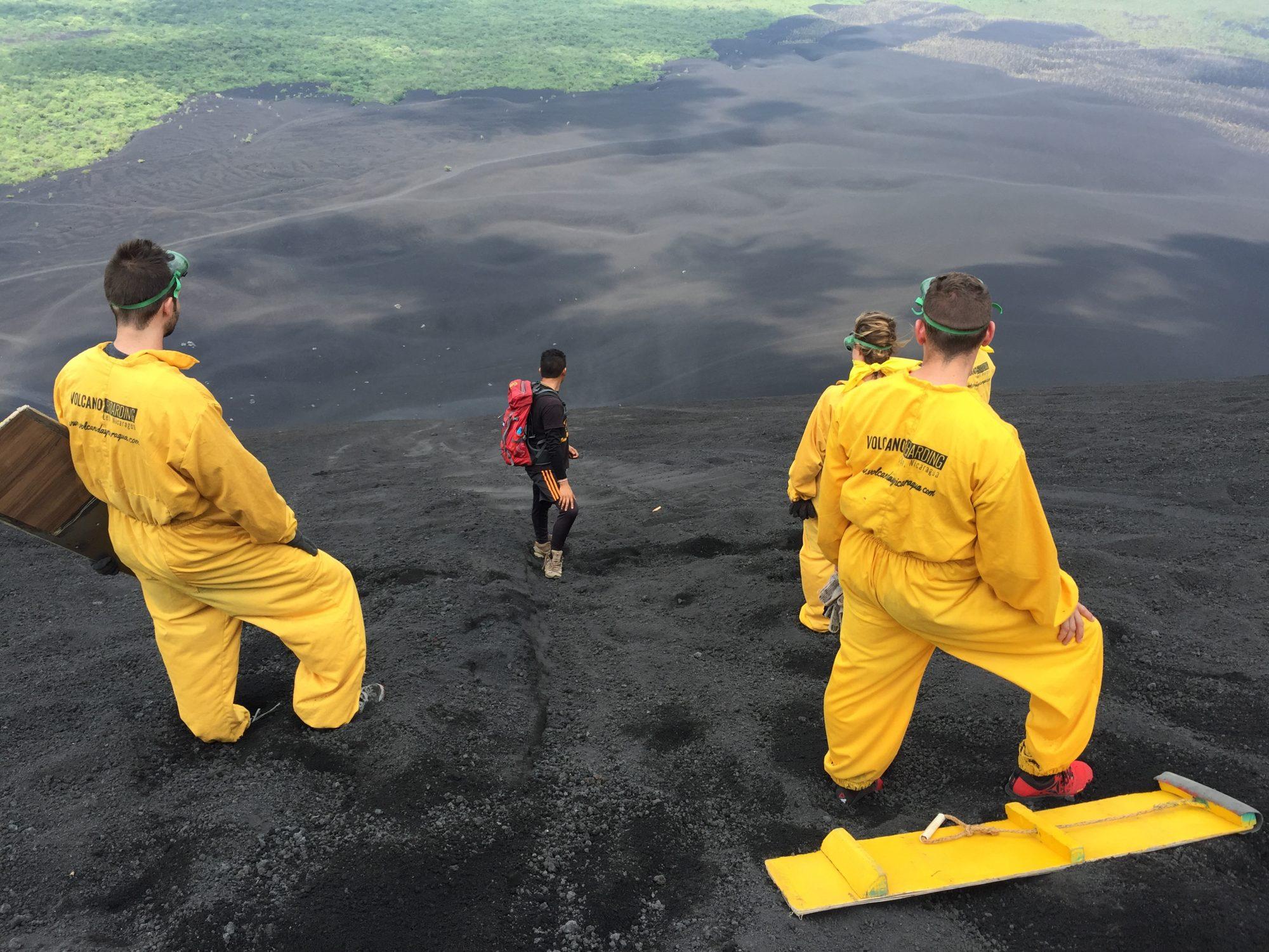 Day 81 – Volcano Boarding in Leon, Nicaragua