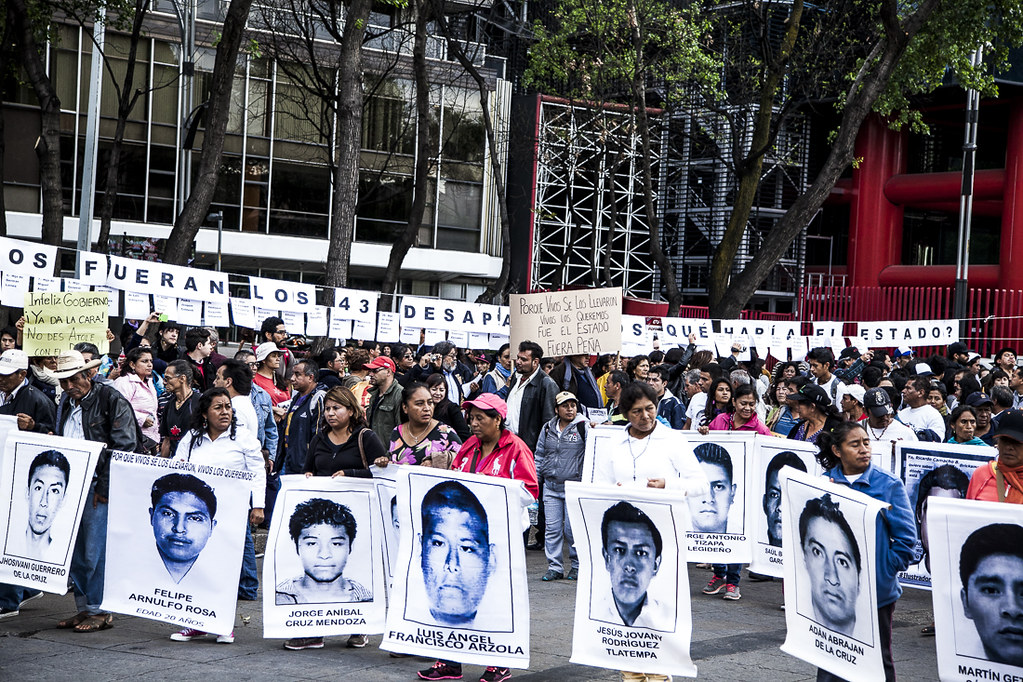 Mexican Students Kidnapped & Killed in Iguala, Mexico 2014