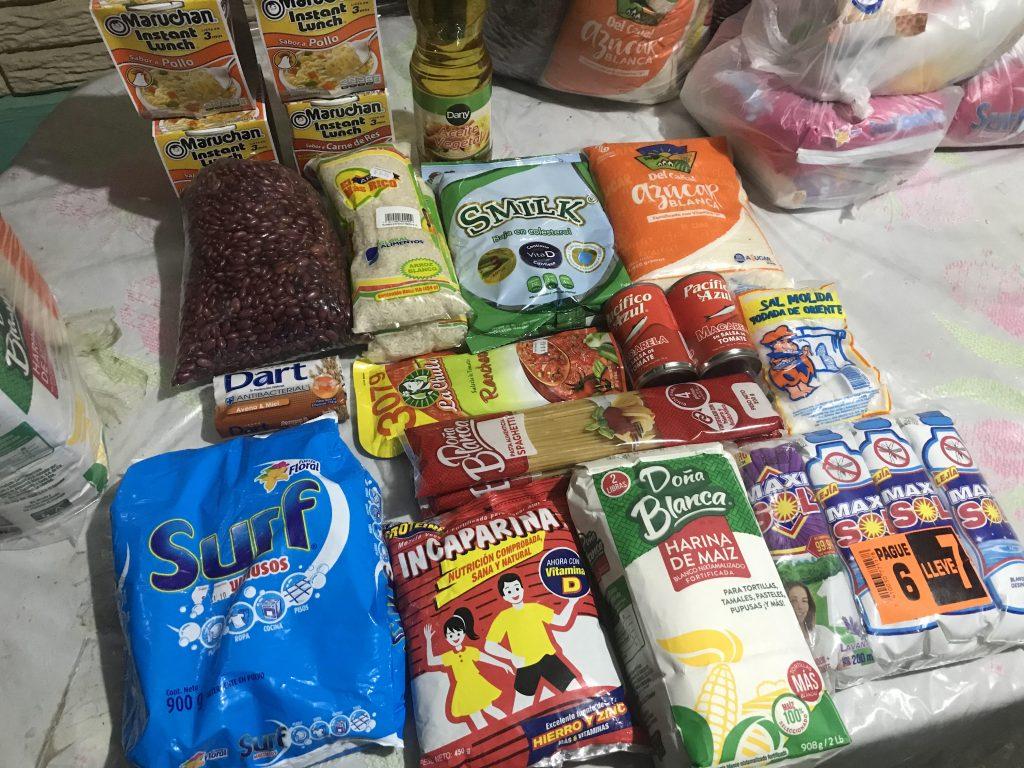 Fight Hunger El Salvador Foods Campaign