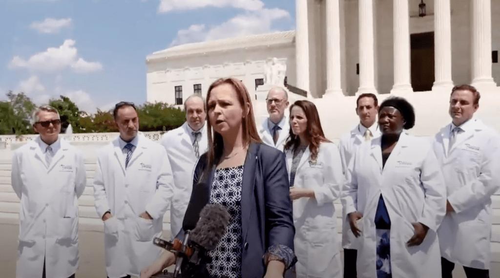 Covid-19 Doctors Capitol Hill
