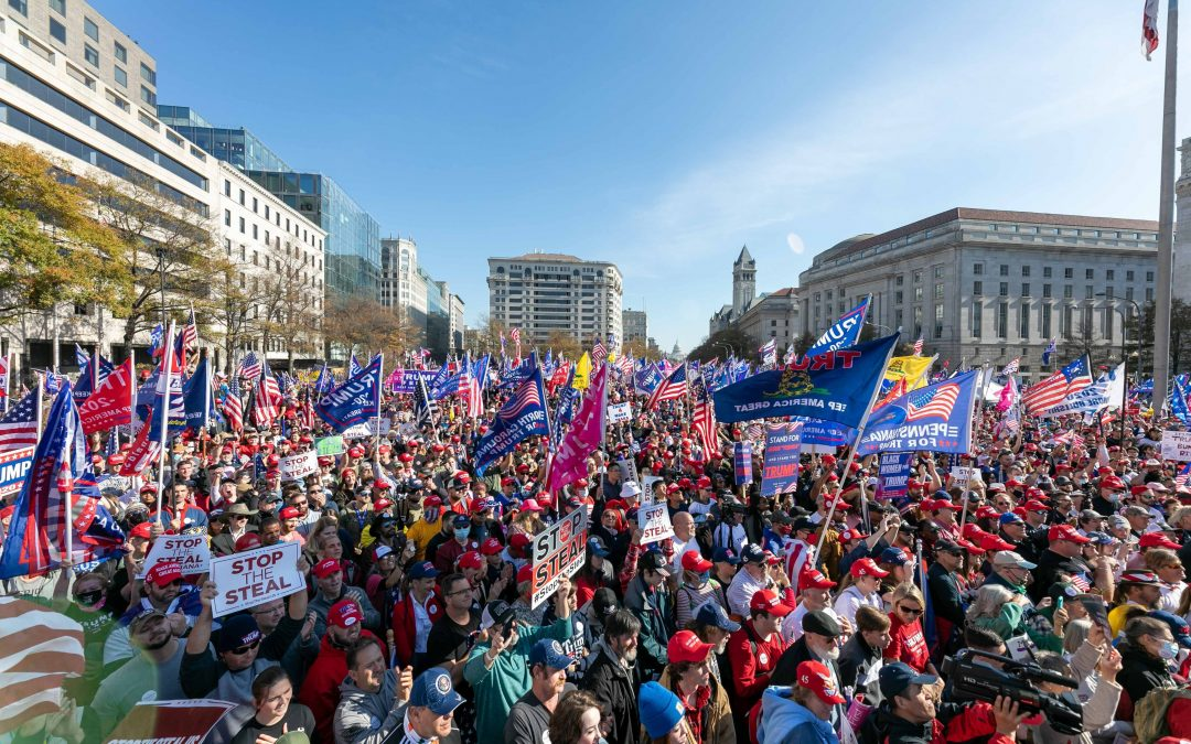Antifa Attacks Trump Supporters At Million MAGA March