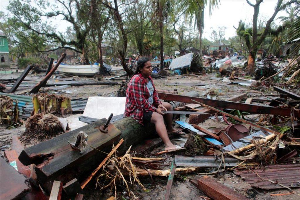 Hurricane Iota Nicaragua 2020