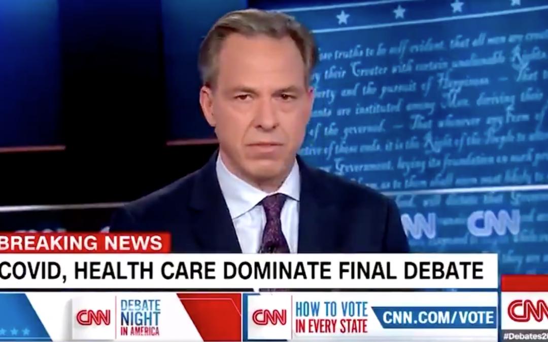 Jake Tapper of CNN Lied Multiple Times – Video