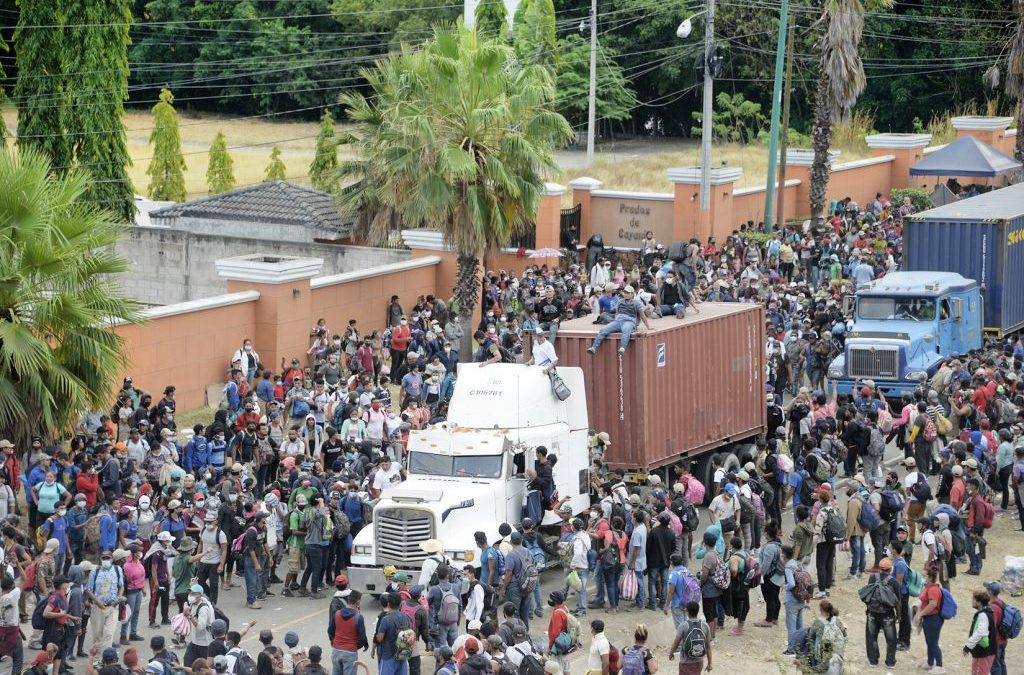 Honduran Caravans In Guatemala Ended