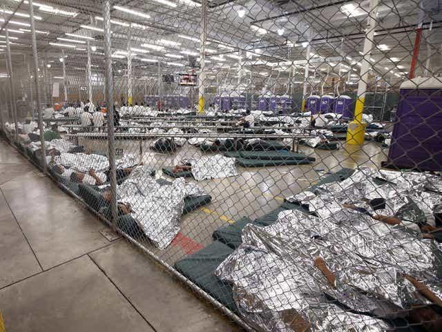 Obama Biden Migrant Cages