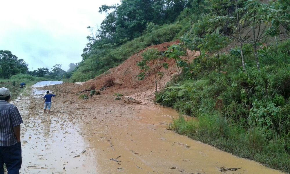 Mudslides Panama - German Woman Disappeared