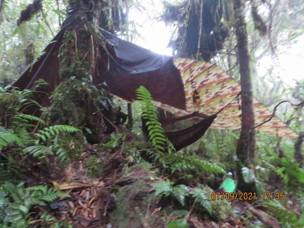 Panama Expedition - Camp Site